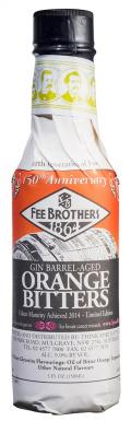 Fee Brothers Gin Barrel Aged Orange Bitter 9%