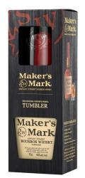 Makers Mark 0,7 45% pdd.+ 1 pohár