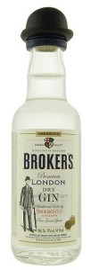 Brokers 40 Gin mini 0,05 40%