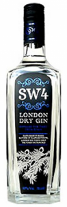SW4 London Dry Gin 40% 0,7l