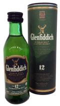 Glenfiddich 12 years mini 0,05l 40% dd.
