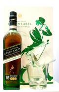 Johnnie Walker Green 15 years 43% dd.+ 2 pohár