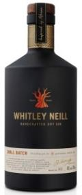 Whitley Neill Small Batch Dry Gin 43%