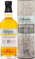 BALLANTINES 15 YEARS GLENTAUCHERS SINGLE MALT WHISKY