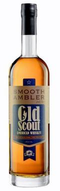 SMOOTH AMBLER OLD SCOUT AMERICAN WHISKEY 0,7L 53,5%