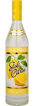 STOLICHNAYA CITROM-LIME VODKA 37,5% 0,7L