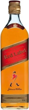 JOHNNIE W. RED WHISKY 0,35L 40%