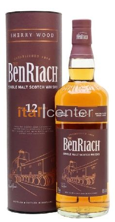BenRiach 12 y. Sherry Wood 46% dd.