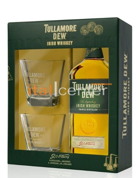 Tullamore Dew 0,7 40% pdd. + 2 pohár
