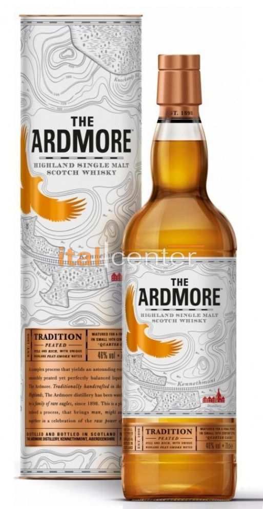 Ardmore Traditional Peated 40% dd.
