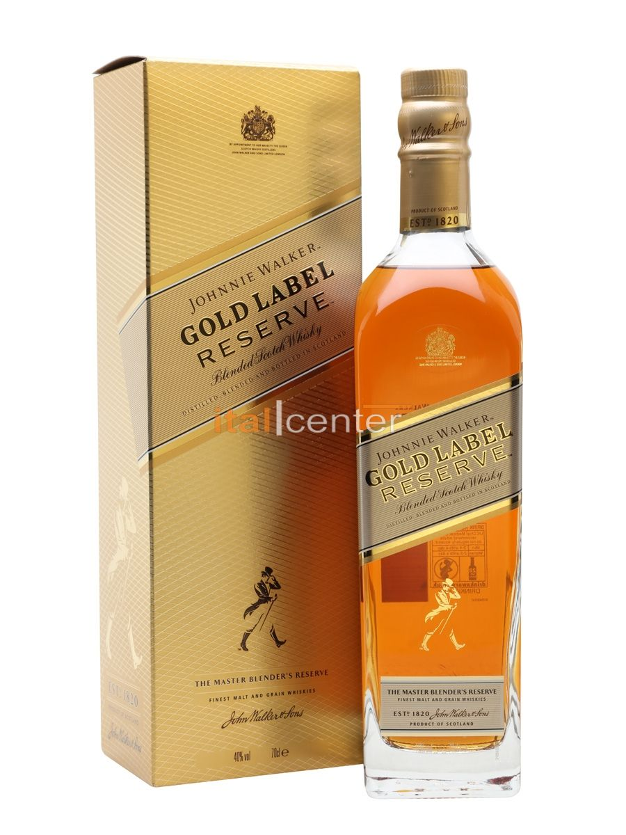 JOHNNIE W.WHISKY GOLD RESERVE 40% 1l