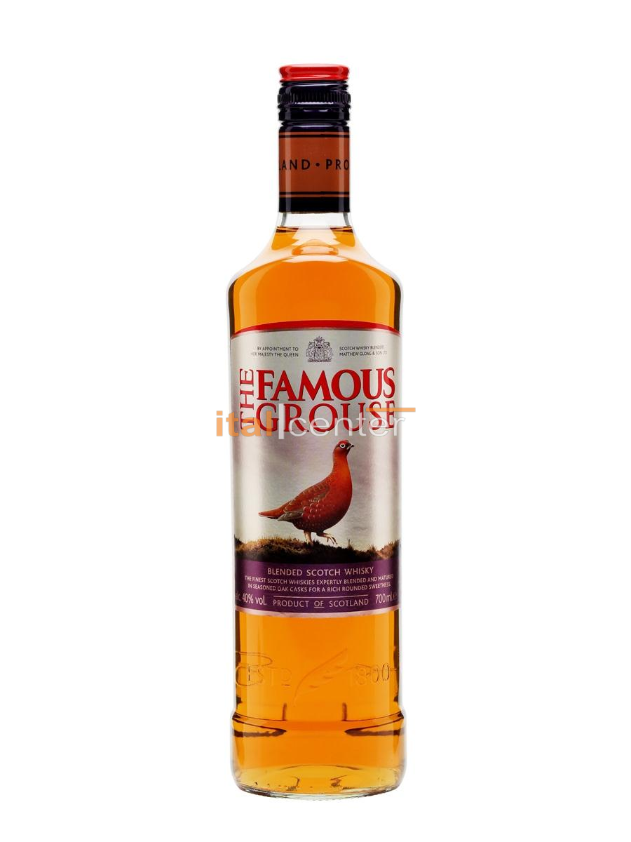 FAMOUS GROUSE WHISKY 40 % 0,5L