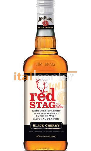 JIM BEAM WHISKY RED STAG 40% 0,7L
